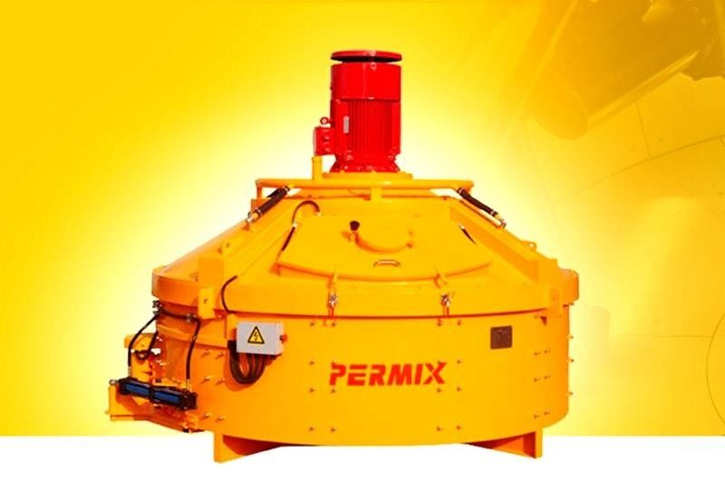 Wear Resistant Precast Concrete Planetary Mixer Ceramic Materials PMC1250