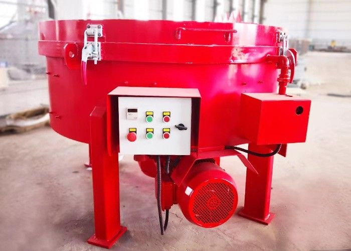 Anti Wear Mt500 Concrete Pan Mixer For Mixing Lightweight Aggregate Concrete